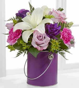 Color Your Day With Beauty Bouquet by FTD