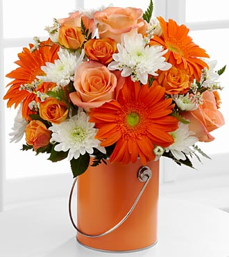 Color Your Day With Laughter Bouquet by FTD - DELUXE