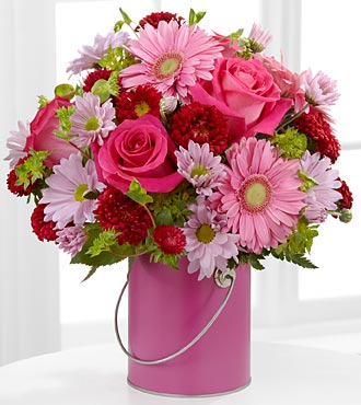 FTD Color Your Day With Happiness Bouquet - DELUXE