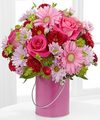 Color Your Day With Happiness Bouquet by FTD - DELUXE