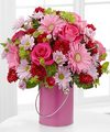 Image of Color Your Day With Happiness Bouquet by FTD - PREMIUM