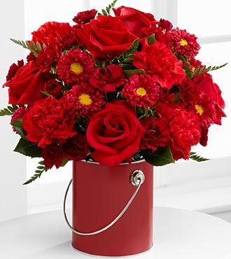 Color Your Day With Love Bouquet by FTD - DELUXE