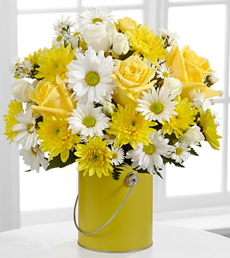 Color Your Day With Sunshine Bouquet by FTD - DELUXE