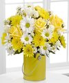 Image of Deluxe version for Color Your Day With Sunshine Bouquet by FTD