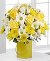 Image of Premium version for Color Your Day With Sunshine Bouquet by FTD