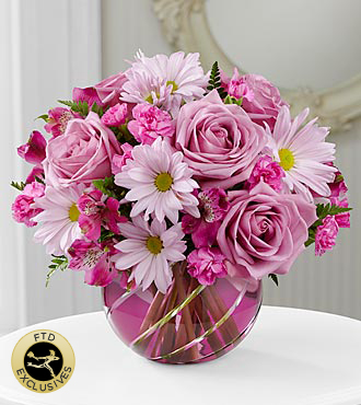 FTD Radiant Blooms Bouquet - DELUXE
