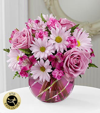 FTD Radiant Blooms Bouquet