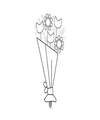 FTD Touch of Spring Bouquet - DELUXE