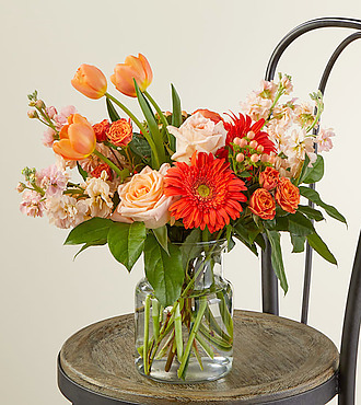 FTD New Day Dawns Bouquet by Vera Wang - PREMIUM