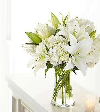 Hydrangea and Lily Bouquet - S5262