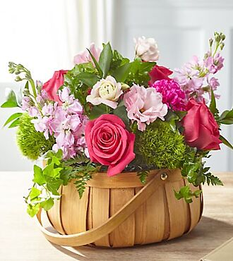 Radiance in Bloom Basket - S5286