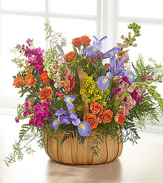 Flowers Fast coupon: Garden of Life Basket