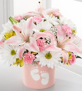 Sweet Dreams Bouquet by FTD - Girl - DELUXE