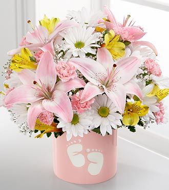 Sweet Dreams Bouquet by FTD - Girl - PREMIUM