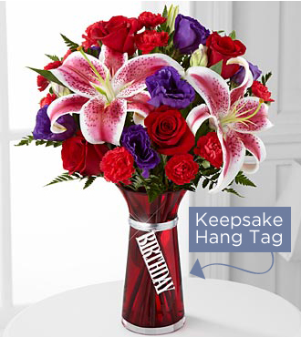 FTD Birthday Wishes Bouquet - DELUXE