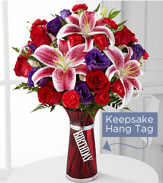 FTD Birthday Wishes Bouquet - PREMIUM