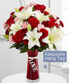 Image of Premium version for FTD Expressions of Love Bouquet