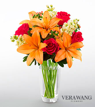 FTD Luxe Looks Bouquet by Vera Wang