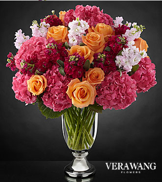 Ftd Astonishing Luxury Mixed Bouquet By Vera Wang Same
