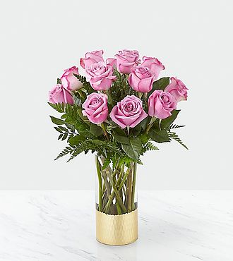 Pure Beauty Lavender Rose  Bouquet - 20-V1L