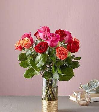 Rose Colored Love Bouquet - 21-V1M