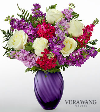 Vera Wang Spirited Bouquet - DELUXE