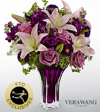 FTD Garden Terrace Bouquet by Vera Wang - DELUXE