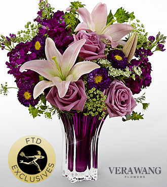 FTD Garden Terrace Bouquet by Vera Wang