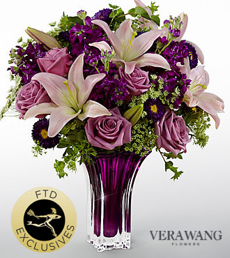FTD Garden Terrace Bouquet by Vera Wang - PREMIUM