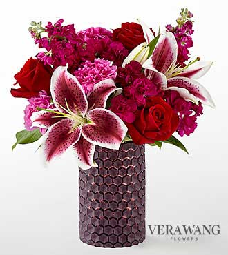 FTD Vibrant Fuchsia Bouquet by Vera Wang