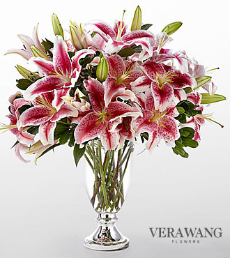 FTD Stylish Stargazer Bouquet by Vera Wang - PREMIUM