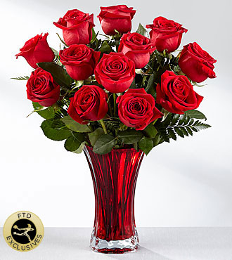 FTD In Love with Red Roses Bouquet