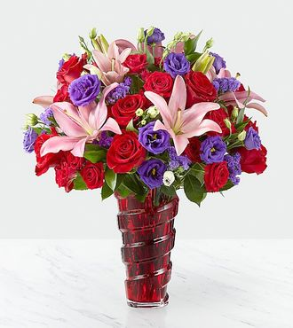 FTD In Love with Red Roses Bouquet - PREMIUM