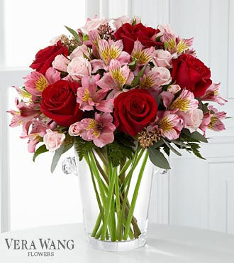 FTD Graceful Wishes Bouquet by Vera Wang - DELUXE