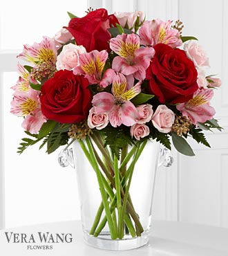 FTD Graceful Wishes Bouquet by Vera Wang
