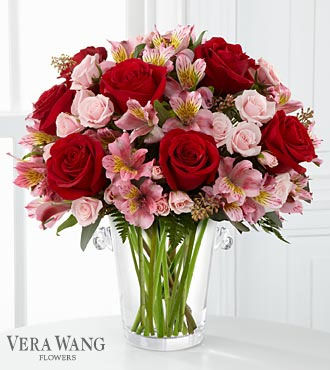 FTD Graceful Wishes Bouquet by Vera Wang - PREMIUM