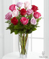 FTD Captivating Color Rose Bouquet by Vera Wang