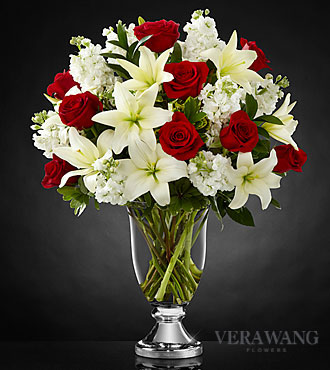 FTD Grand Occasion Bouquet by Vera Wang- VASE INCLUDED