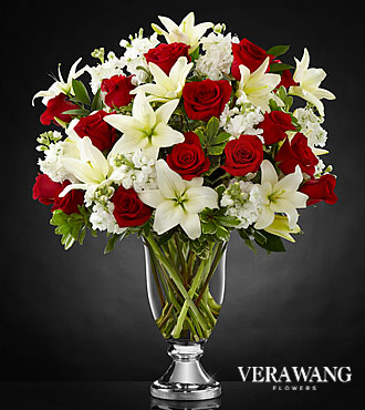 FTD Grand Occasion Bouquet by Vera Wang- VASE INCLUDED - PREMIUM