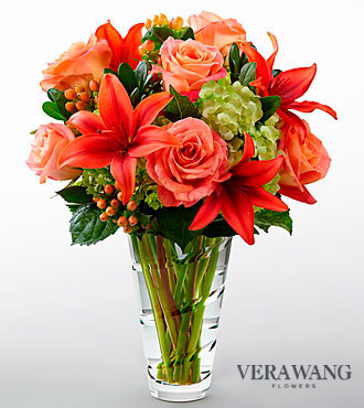 FTD Dawning Delight Bouquet by Vera Wang - DELUXE