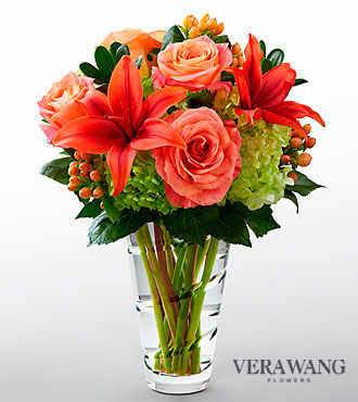 FTD Dawning Delight Bouquet by Vera Wang