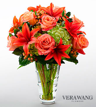 FTD Dawning Delight Bouquet by Vera Wang - PREMIUM