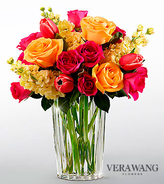 FTD Beauty and Grace Bouquet by Vera Wang