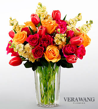 FTD Beauty and Grace Bouquet by Vera Wang - PREMIUM