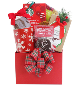 Holiday Care Tea and Deserts Box - WebGift - WG1061