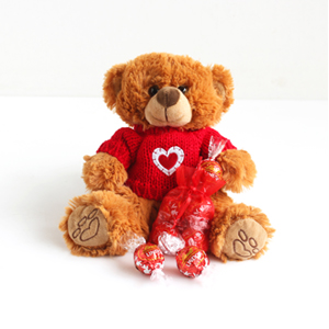 Image of Standard version for Cuddles and Sweets Bear - WebGift