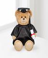 Build A Bear ConGRADulations Bear with Black Gown - WebGift