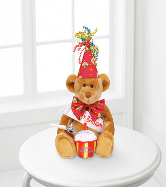Build-A-Bear Happy Bearthday Bear with Singing Cake - WebGift