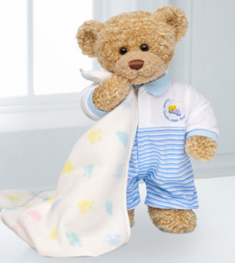 Sweet Dreams Baby Bear - Boy - WebGift