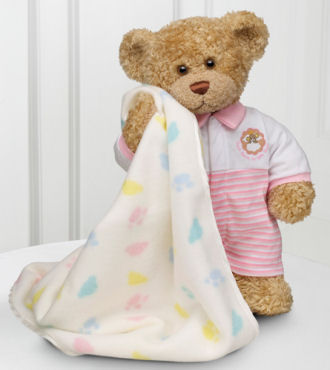 Sweet Dreams Baby Bear - Girl - WebGift